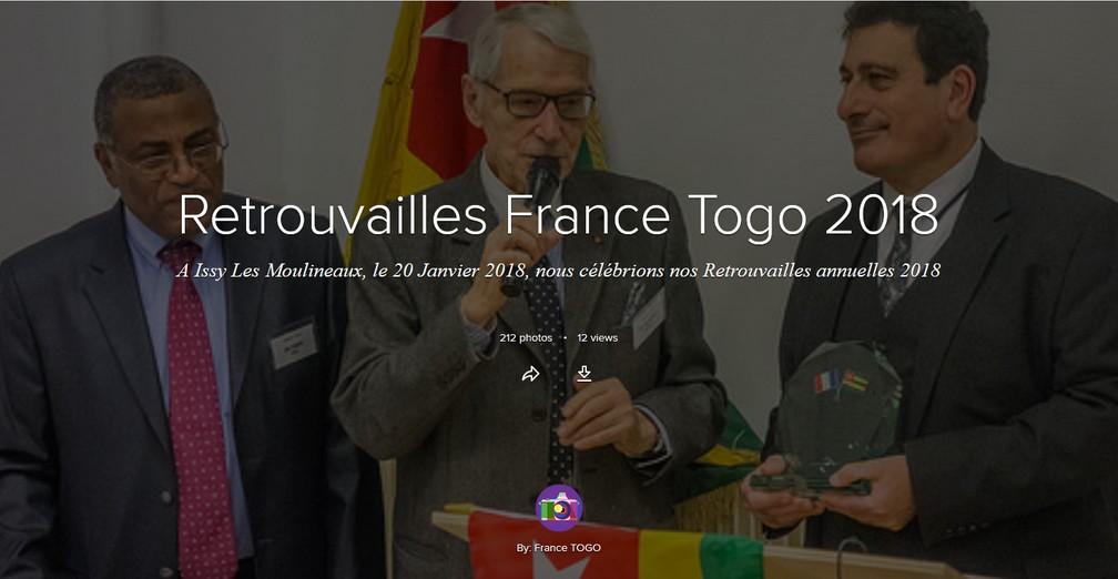 Retrouvailles France-Togo 2018